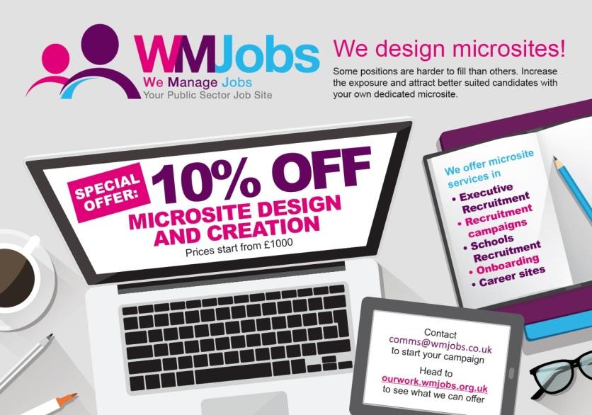 microsite flyer