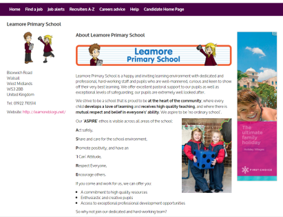 leamore primary recruiter